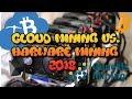 Cloud Mining vs. Hardware Mining - 2018