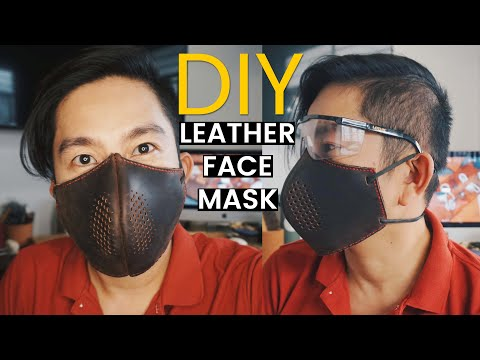 making-a-leather-face-mask-(diy-leathercraft-vlog).-free-pdf-pattern-link-available