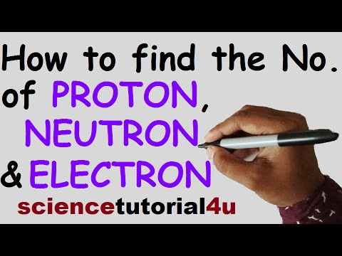 How to find the number of protons neutrons and electrons in atoms how to find the number of protons neutrons and electrons in atoms and ions urtaz Choice Image