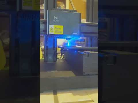 Vector Laser Engraving With Dobot Mooz 2 (and Maybe Other Marlin