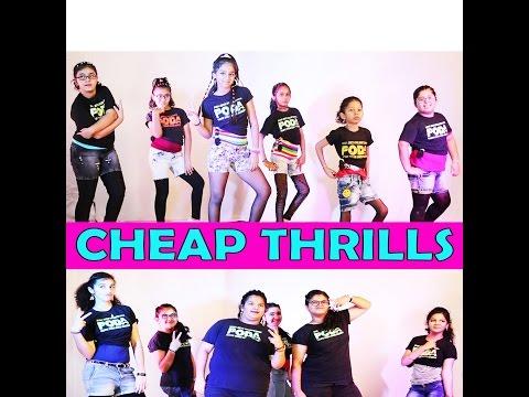 CHEAP THRILLS DANCE CHOREOGRAPHY @ PODA ( PACIFIC OCEAN DANCE ACADEMY )