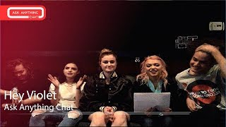 Hey Violet Talk About