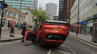 London England 🇬🇧 car accident 😮