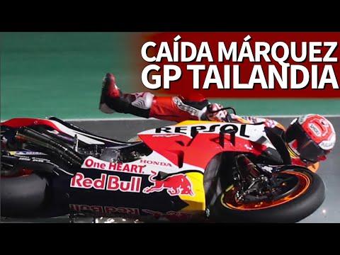 Moto GP | MÁRQUEZ sufre una caída en los entrenamiento en TAILANDIA | Diario AS