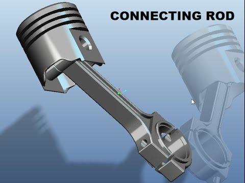PRO E TUTORIAL DESIGN OF CONNECTING ROD
