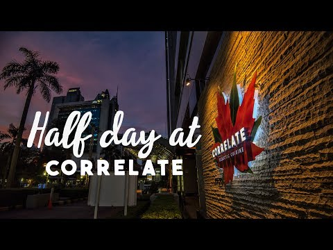 Half-day enjoying the cuisine  in Correlate Indonesia!