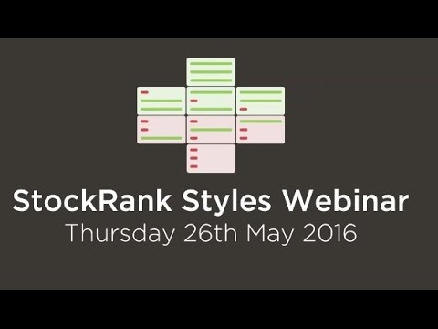 StockRank Styles Webinar