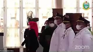Download lagu Pelantikan dan Pengambilan Sumpah Jabatan Bupati, Wakil Bupati dan Wali Kota,Wakil Wali Kota Sumut