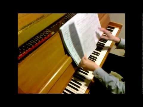 Oliver Kohlenberg Pianosonaatti Nro 5. San-Tan Injuehin (=Kolmasti kuvastuva kuu) op. 68 - Ote B
