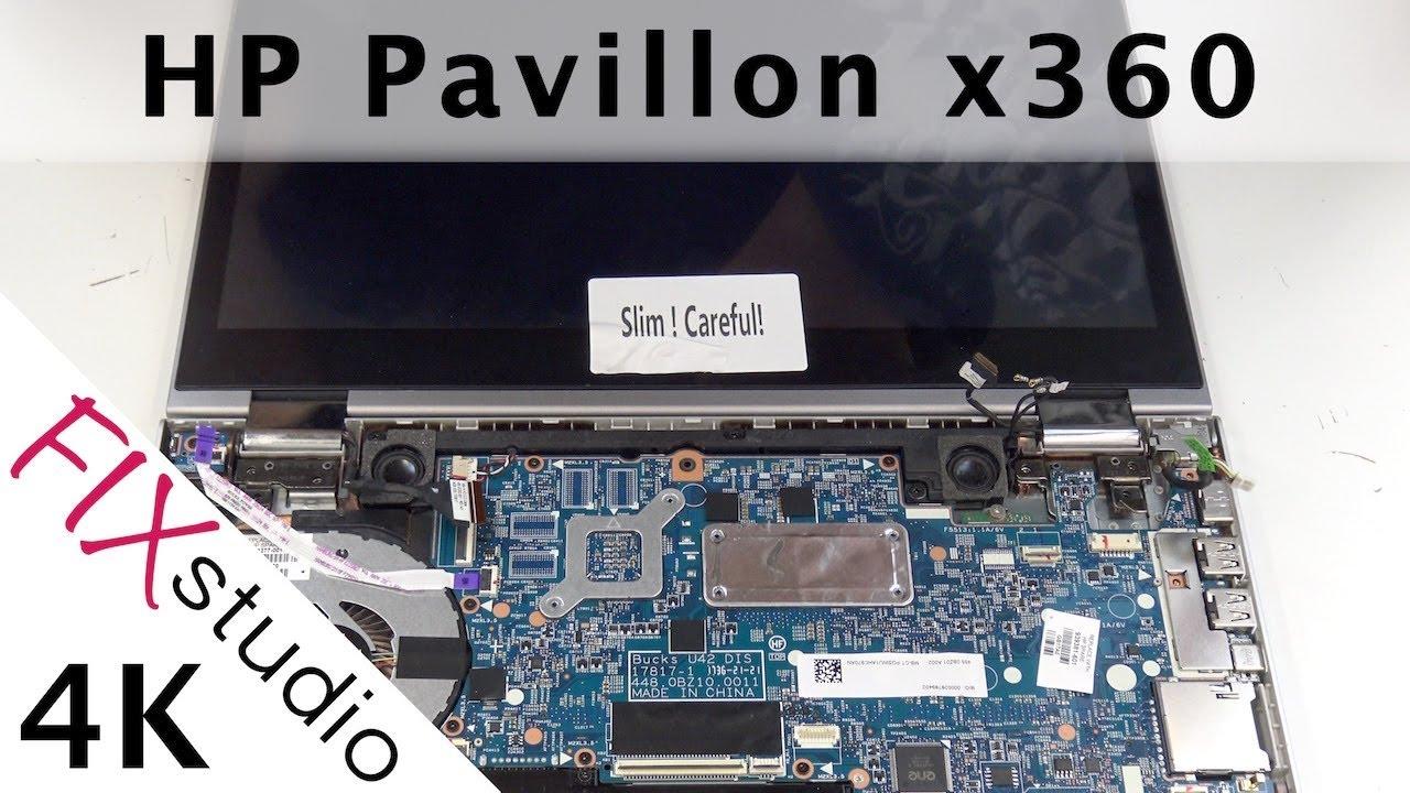 HP Pavillon x360 Convertible - display replacement