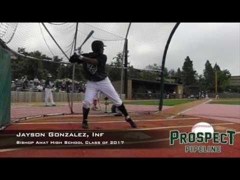 Jayson Gonzalez, Inf, Bishop Amat High School, Swing Mechanics at 200 FPS