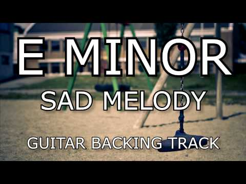 Minor backing melody guitar sad track in download e