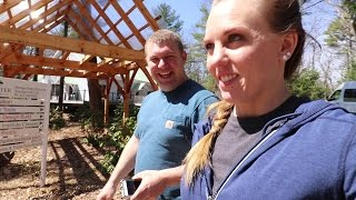 RARE owner built TIMBER FRAME TOUR + Workshop Orientation (in Maine!)