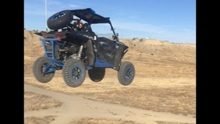 Jumping the RZR XP1000...Ouch!