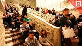 огромная очередь в ЗАГС в Петербурге