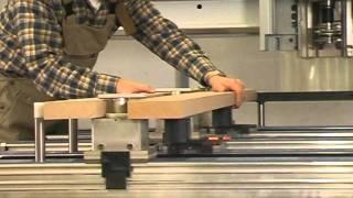 CNC router for massive wood & flat panels