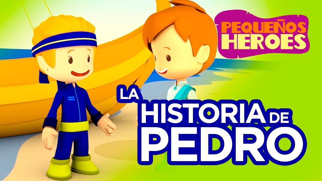 Historias de la Biblia para niños – Pedro – Pequeños Héroes