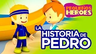 Historias de la Biblia para nios  Pedro  Pequeos Hroes