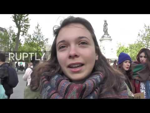 France: Clashes erupt during Paris anti-Le Pen and Macron protest