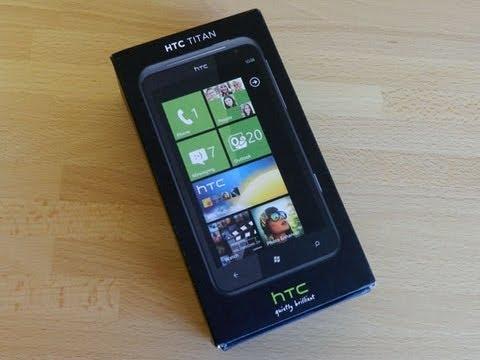 HTC Titan Unboxing | Pocketnow