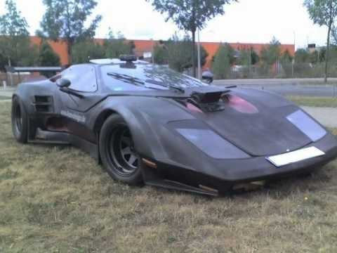 Classic Kitcars Batmobile Kit Car Supercar Sebring Kit Car Replica