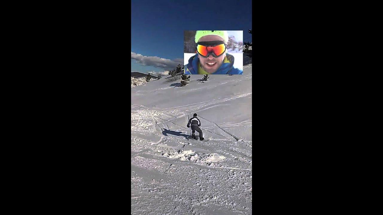 Roccaraso snowboard grande discesa