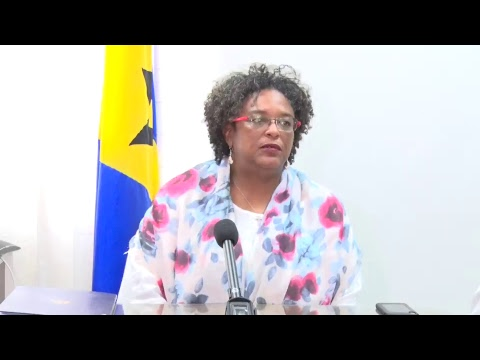 Press Conference by Prime Minister the Hon. Mia Amor Mottley, Q.C., M.P.
