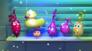 Прикольный мультик «Овощная вечеринка» - Отпуск у воды (56 серия)
