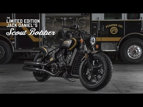 Jack Daniel's® Limited Edition Indian Scout Bobber – Indian Motorcycle®