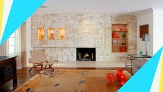 Wohnzimmer Mit Steinwand Gestalten