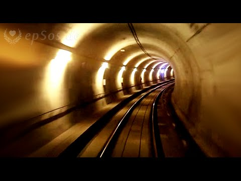 Underground Train Tunnel for the Metro.