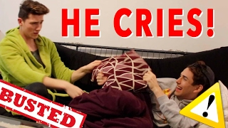 CHEATING PRANK ON BOYFRIEND (HE CRIES) *GAY COUPLE*