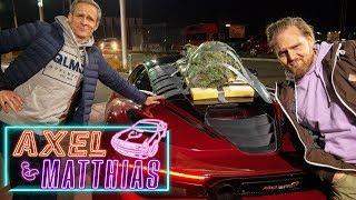 McLaren 720s Weihnachtsbaum-Transport  |Weihnachts-Special Teil 2 | Axel & Matthias