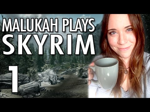 Malukah Plays Skyrim - Ep.1: Bow Woes