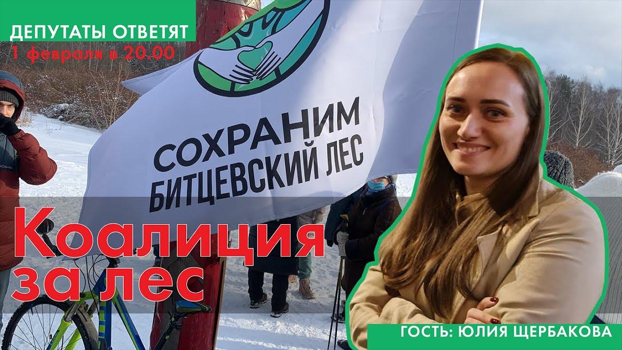 Коалиция за лес. Эфир с Юлией Щербаковой