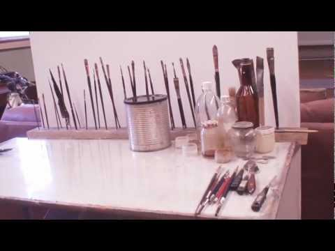 How to Make a Glass Palette