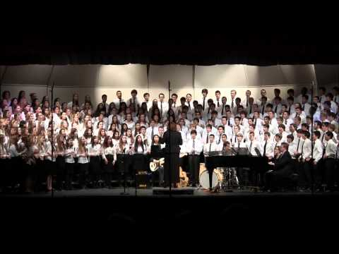 VA District XII Mixed Chorus - The Storm is Passing Over, Feb 2013