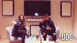 DDG INTERVIEW: TALKS ACE FAMILY, NEW EP SORRY 4 THE HOLD UP, LONDON + MORE| SASHTV