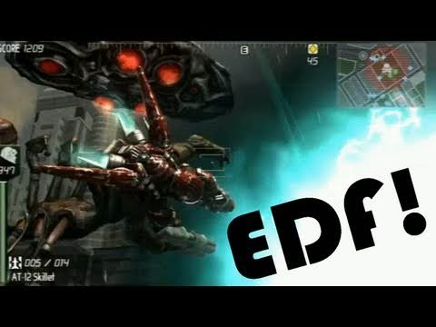 Classic Game Room - EARTH DEFENSE FORCE INSECT ARMAGEDDON review pt1