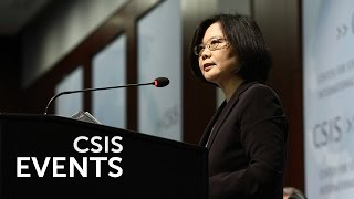 Tsai Ing-wen 2016: Taiwan Faces the Future
