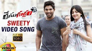 Race Gurram Telugu Movie Songs 1080P | Sweety Full Video Song | Allu Arjun | Shruti Haasan