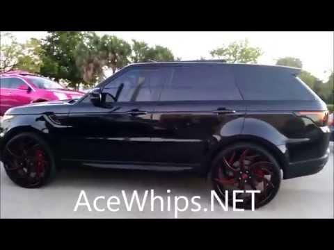 Download video: AceWhips.NET- Black Range Rover Sport on ...