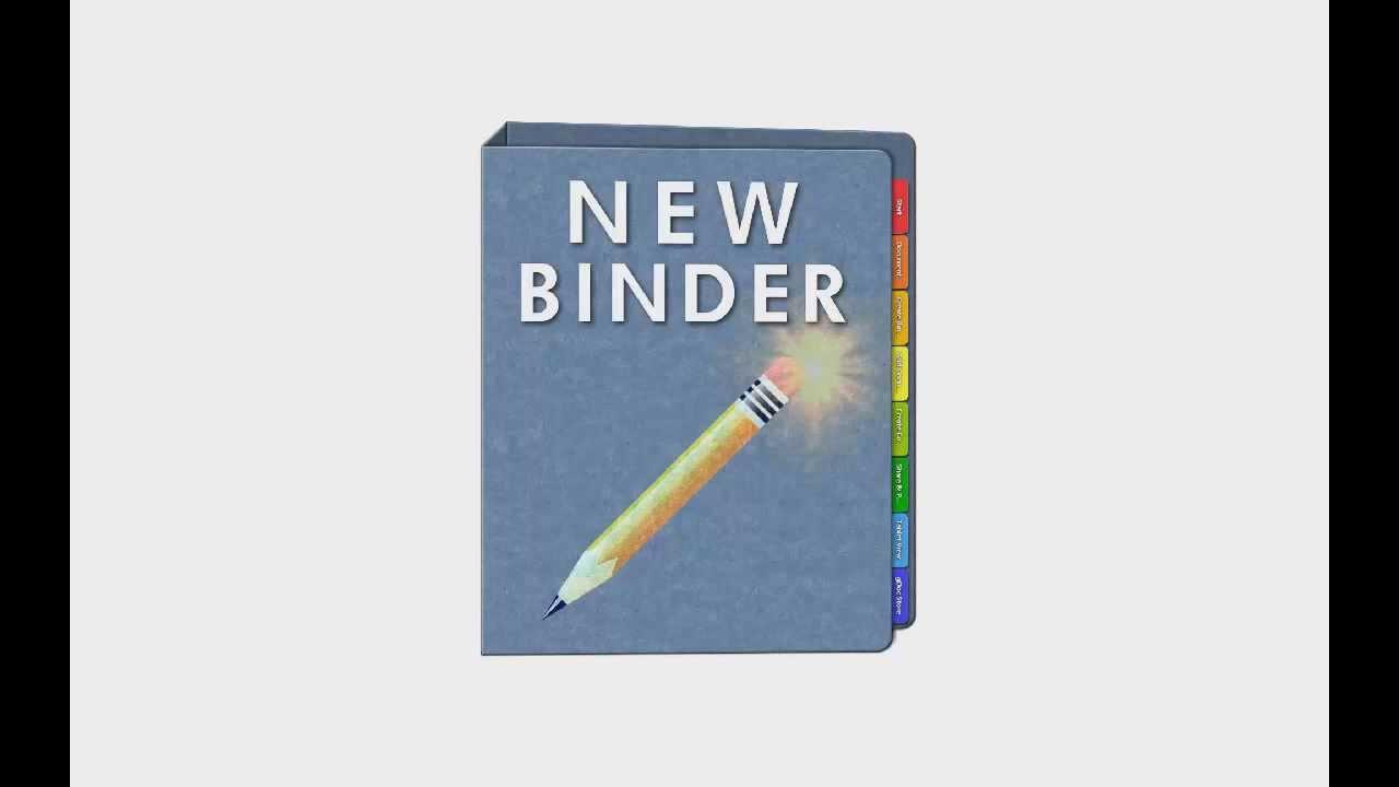 ms office binder
