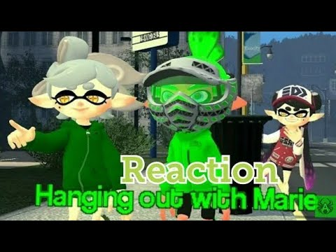 [Splatoon GMOD] Hanging out With Marie Reaction