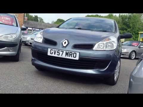 Renault Clio 1.2 Expression 16v 3dr Hatch For Sale at Gatwick Motor World