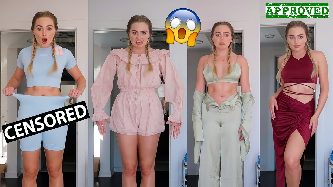 A Very Realistic Try On Haul...*YIKES*
