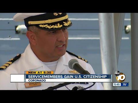 Servicemen gain U.S. citizenship