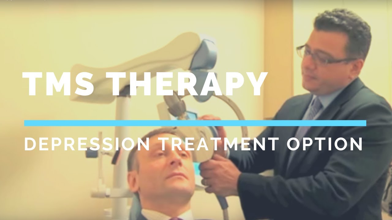 TMS Therapy - Depression Treatment Option, No Side Effects ...