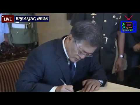 Moon speaks to business leaders from Seoul Jakarta one on one with _LIVE HD Breaking NEWS