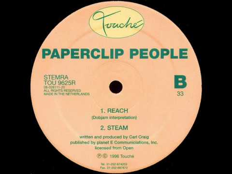 Paperclip People (Carl Craig) - Reach - Dobjam Interpretation - The Floor Ep